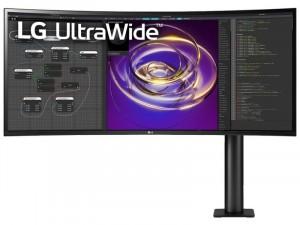 LG 34WP88C-B - 34 colos QHD IPS 21:9 Ívelt kijelzős Fekete monitor