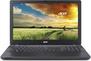Acer Aspire E5-571-32M3 laptop (Intel® Core™ i3-4005U Processzor/4GB/500GB/Intel® HD Graphics 4400/Linux/Fekete)